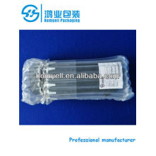 plastic bubble bag for packaging glass products