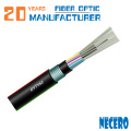 out door stranded loose tube armored optic fiber cable GYTY53