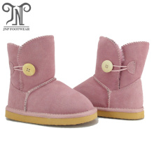 Good Quality for Toddler Sheepskin Boots Kids Girls Pink Boots Fleece Lining supply to Mauritius Exporter