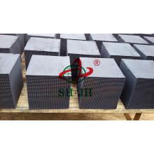 Cubo de abeto activado carbón de alta calidad fábrica
