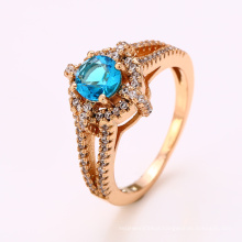 12369 Fashion jewelry finger ring wholesale girls' latest 18k gold color luxury special price ring designs