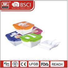 New! Plastic Lunch Box(1.6L)