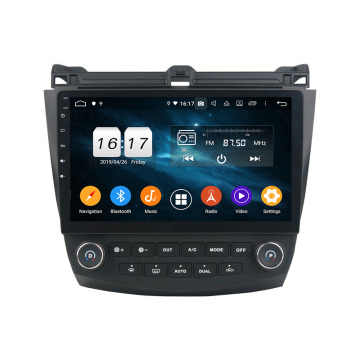 Accord 7 2003-2007 voiture multimédia Android 9.0