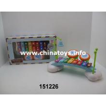 Instrumentos musicais felizes. Órgão eletrônico do brinquedo das crianças (151226)