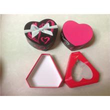 Caja de chocolate en forma de corazón para el día de San Valentín