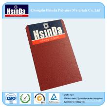 China fornecedor pele textura Ral 3011 tinta em pó