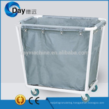 HM-47 powder coating steel frame laundry on wheels with Oxford bag