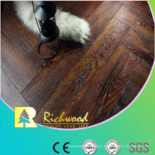 Commercial 8.3mm Embossed Cherry Sound Absorbing Laminated Flooring