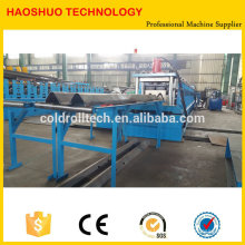 Highway protective waveform guarding plate W beam Guardrail making Line