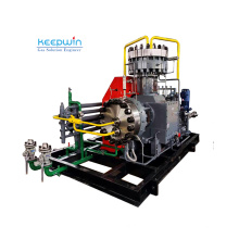 Long service life valves 4000hrs 6000hrs oil free gas diaphragm compressor CO2 Helium Hydrogen Gas Compressor