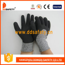 Cut Resistance Glove Foam Latex Coating Safety Gloves -Dcr430