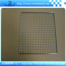 Stainless Steel Barbecue Wire Mesh Used in Canteen