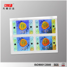 Custom 2d/3d holographic Stickers for cosmetic products