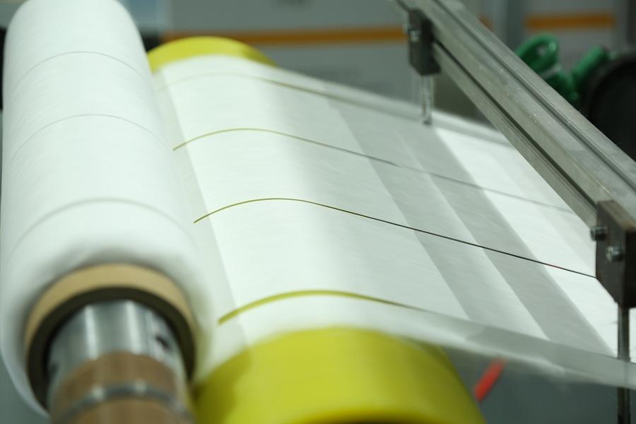 Melt Blown Nonwoven Fabric Cutting Detail