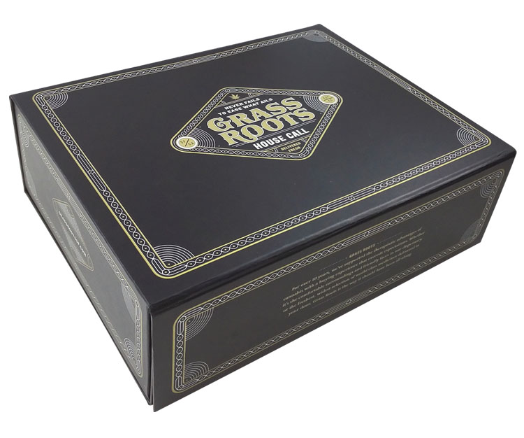 Luxury Black Custom Magnet Clothing Storage Box