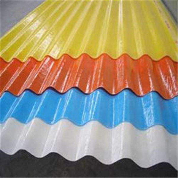 High quality Trapezoidal roofing sheet color