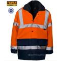 High Vis Protect Waterproof Oxford Jacket
