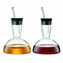 Wholesale Oil and Vinegar Glass Bottle Decorative Cruet Glass Bottle