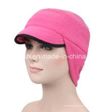 Tampão de lã ao ar livre coreano montando chapéu tampa da orelha