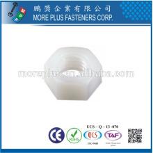 Hecho en Taiwán PP Nylon Plástico Tuerca