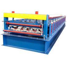 Fabricante profesional de contenedores panel de carga de la caja de cartón del coche carro de la placa de rodillo que forma el equipo