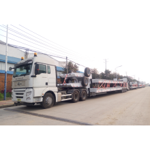 Low loader semi-trailer on sale