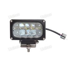 Farol de LED retangular de 4 polegadas 12V / 24V 30W