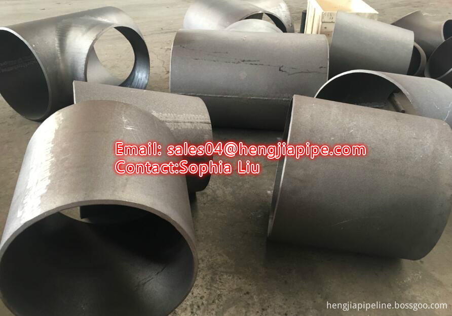A234WPB butt weld pipe tee