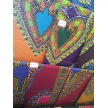 Африканских супер блок восковые печати хлопок ткани