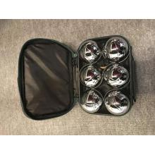 Six Ball Boule Set In Nylon Bag