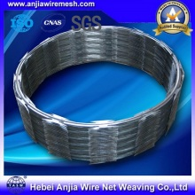 Hot Dipped Galvanized Razor Wire und Akkordeon Double Wire