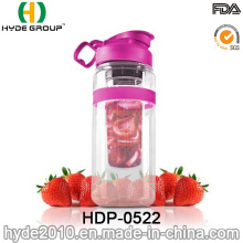 32oz Large Tritan Fruit Infusion Bottle, Customized Plastic Water Bottle (HDP-0522)