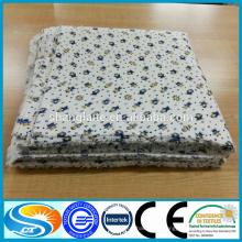Produit pour bébés 100% coton flanelle tissu flanelle chemise flanelle couverture