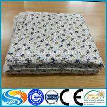 Baby product 100% хлопок фланель ткань фланель рубашка фланель одеяло