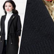 Tejidos de moda de tejer Jacquard negro de alta calidad