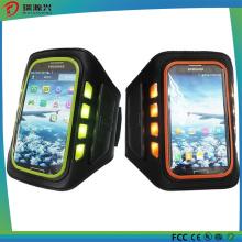 2016 nuevas pulseras del silicón del LED del brazalete para la caja del teléfono móvil