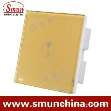 1 Gang Schalter Wall Touch und Fernbedienung Doppelsteuerschalter