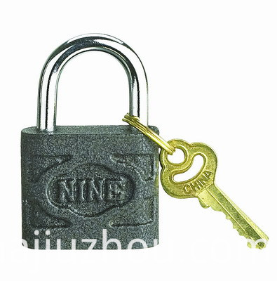 Top Security Cast Iron Padlock