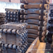 High Manganese Steel Sand Casting Dredger Leaf Chain Parts