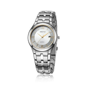 Cheap Stainless Steel Quartz Couple Wrist Watch