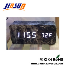 Fashion Homeware Desktop Marble Alarm Clock