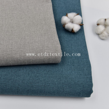 Polyester Linen Furniture Hometextile Upholstery Fabric for Sofa