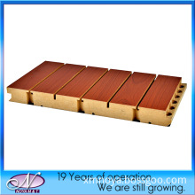 Soundproofing MDF Wooden Grooved Hotel Cinema Acoustic Wall Panel