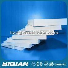 Placa de espuma de PVC branco altamente brilhante para móveis