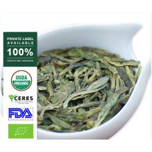 100% Natural Primavera Premium Lun Jing chá verde