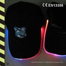 Casquettes clignotantes drôles comprenant des casquettes de sport légères d'Elfiber