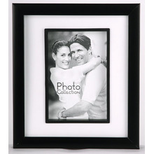Black Classical 10x15cm Plastic Photo Frame