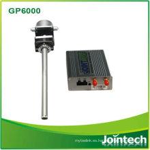 Rastreador GPS con sensor de combustible para gestión de flotas