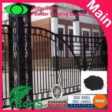 black epoxy polyester powder coating powder coat