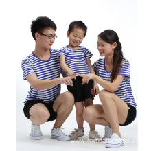 Custom family sea-striped shirt